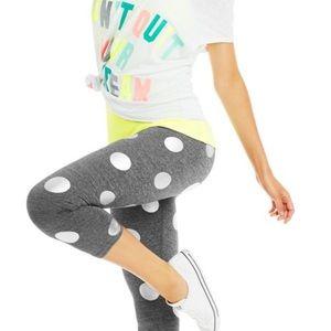 Lorna Jane Carnival Polka Dot Capri legging size S